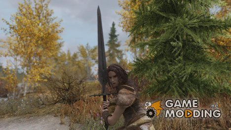 Etheria Blade 2k texture for TES V Skyrim
