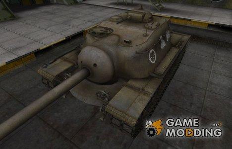 Зоны пробития контурные для T110E3 для World of Tanks