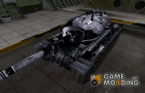 Темный скин для T34 для World of Tanks