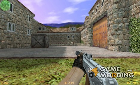 Alcad AKS74u Animations for Counter-Strike 1.6
