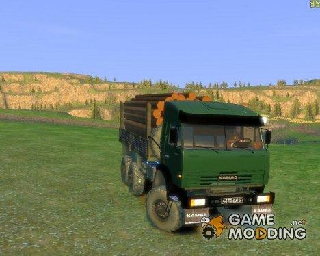 КамАЗ 43114 for GTA 4