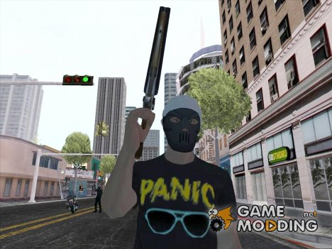 Skin HD Panic for GTA San Andreas