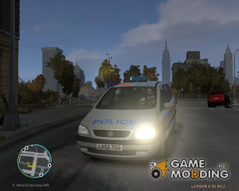 Metropolitan Police 2002 IRV (Britax Halogen Light bar) для GTA 4