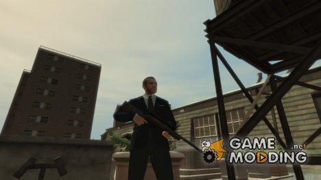 Грязная винтовка M40 для GTA 4