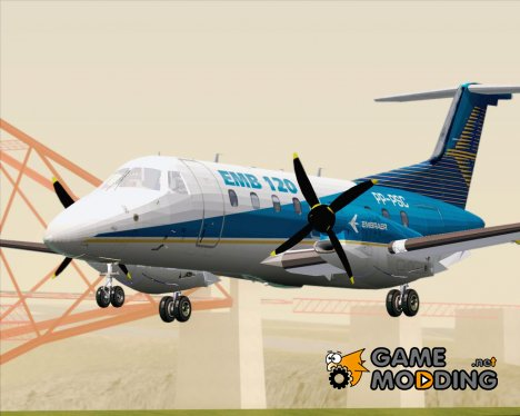 Embraer EMB 120 Brasilia Embraer House Livery for GTA San Andreas