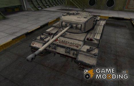 Отличный скин для Caernarvon for World of Tanks