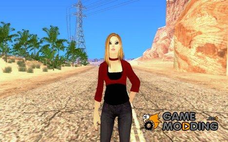 Новая девушка для Гта для GTA San Andreas
