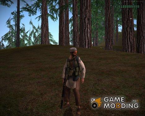 Талибский армеец v7 для GTA San Andreas