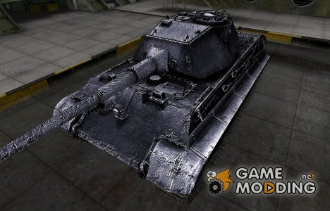 Темный скин для PzKpfw VIB Tiger II для World of Tanks