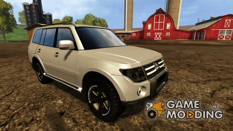 Mitsubishi Pajero full v1.0 for Farming Simulator 2015