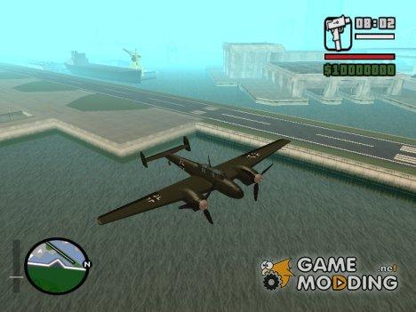 BF-110 Zerstörer для GTA San Andreas