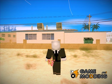 Slenderman (Minecraft) for GTA San Andreas