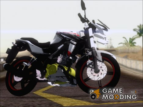 Yamaha Vixion Advance Lominous White для GTA San Andreas
