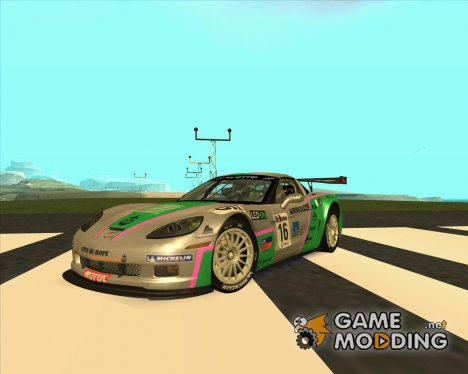 Chevrolet Corvette C6 Z06R GT3 v1.0.1 for GTA San Andreas