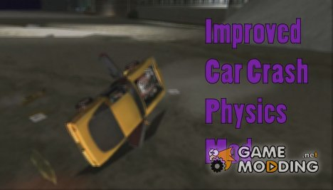 Improved Car Crash Physics для GTA Vice City