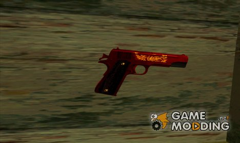 Dual Colt Red Dragon CF for GTA San Andreas