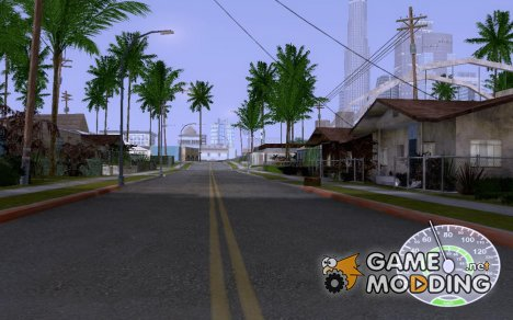 Белый спидометр for GTA San Andreas