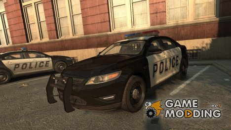 Ford Taurus Police Interceptor 2010 для GTA 4