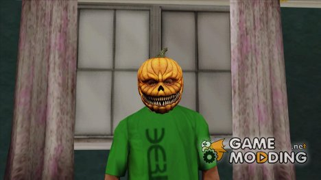 Маска тыквы v1 (GTA Online) for GTA San Andreas