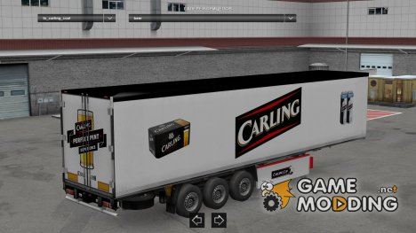Chris45 Trailer Pack 2 for Euro Truck Simulator 2