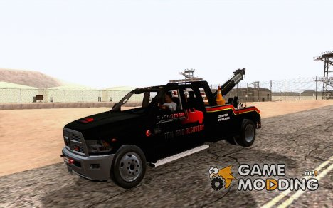Dodge Ram Tow Truck - Goodman Tow and Recovery для GTA San Andreas