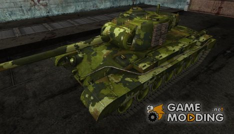 "шкурка для T32 ""Digital Ghost"" для World of Tanks"