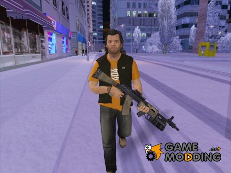 Skin HD GTA V Michael De Santa v2 for GTA San Andreas