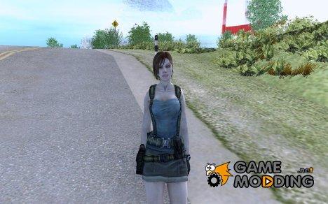 Джил Веллентайн из игры RE ORC для GTA San Andreas