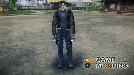 RE4 Leon S. Kennedy [Jacket HD] для GTA San Andreas