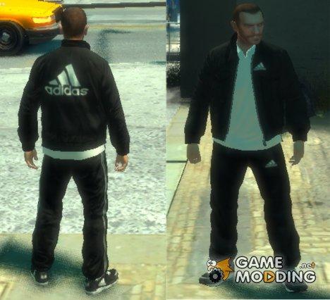 Adidas черный для GTA 4