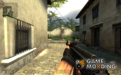 AKS74 Wood для Counter-Strike Source