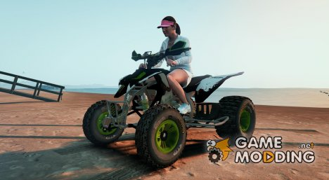 Yamaha YZF 450 ATV - Monster Energy  for GTA 5