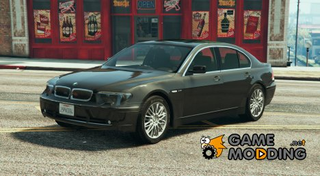 Unmarked BMW 760I (E65) для GTA 5