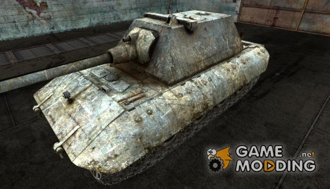 Шкурка для E-100 Battleworn for World of Tanks