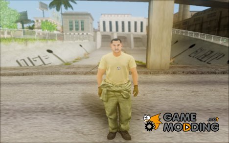 GTA 5 Soldier v2 for GTA San Andreas