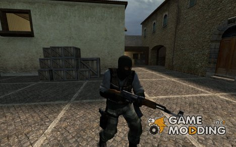 Terror With Black Undershirt for Counter-Strike Source