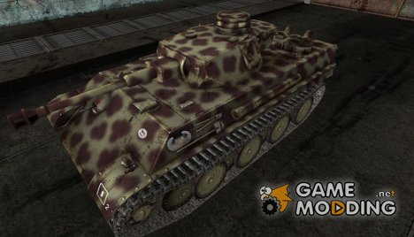 Шкурка для PzKpfw V-IV для World of Tanks