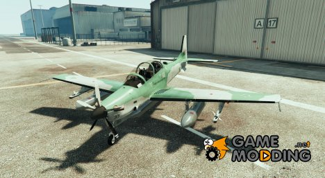 Embraer A-29B Super Tucano  FAB for GTA 5