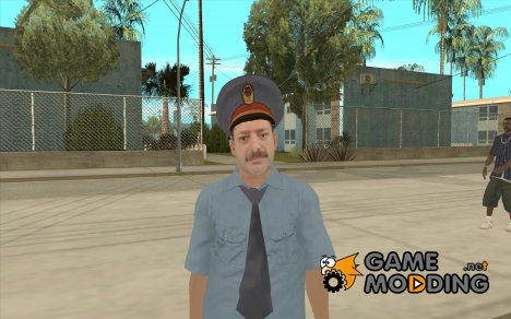 Скин русского милиционера for GTA San Andreas