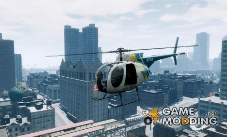 LCPD Unarmed Buzzard v1.0 для GTA 4