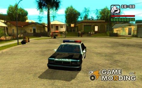 Преимущество полицейской машины for GTA San Andreas