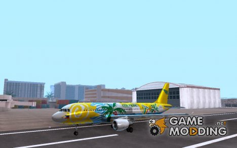Airbus A320-211 Cebu Pacific Airlines for GTA San Andreas