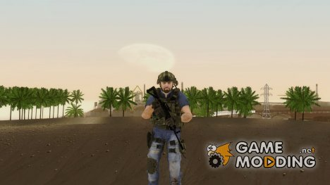 Modern Warfare 2 Soldier 12 для GTA San Andreas