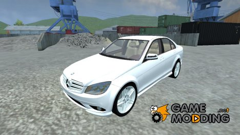 Mercedes-Benz C350 v 1.1 for Farming Simulator 2013