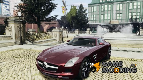 Mercedes-Benz SLS AMG 2011 v3.0 for GTA 4