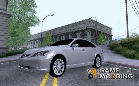 Lexus ES350 2010 for GTA San Andreas