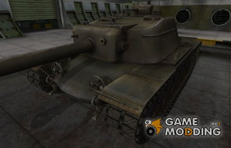 Шкурка для американского танка T110E4 для World of Tanks
