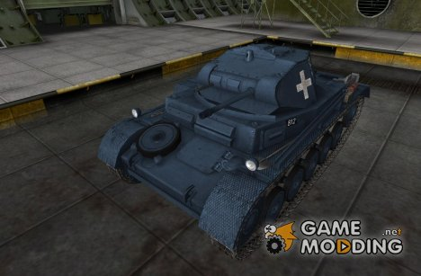 Шкурка для PzKpfw II for World of Tanks