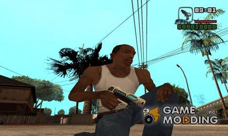 Инопланетный Tec9 for GTA San Andreas