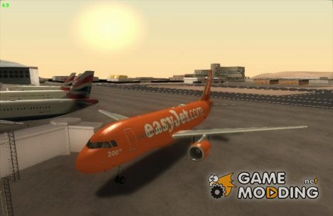 Airbus A320-214 EasyJet 200th Plane for GTA San Andreas